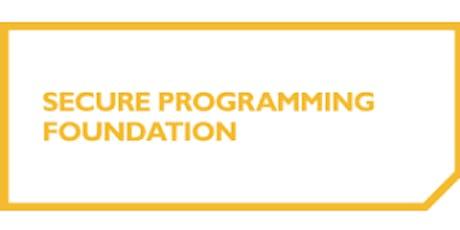 Secure Programming Foundation 2 Days Virtual Live Training in Geneva tickets