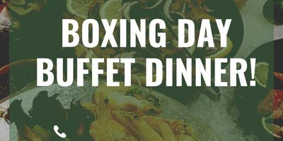 Boxing Day Buffet Dinner