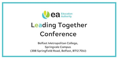 Locality (East)  - Leading Together Conference - Belfast Met tickets