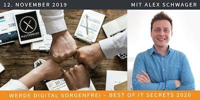 MASTERMIND X November: Werde Digital Sorgenfrei -