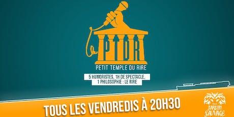 Le Petit Temple Du Rire : 1H de spectacle = 5 humoristes de talent !  billets
