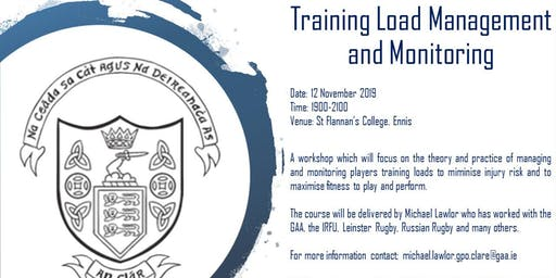 Training Load Management and Monitoring