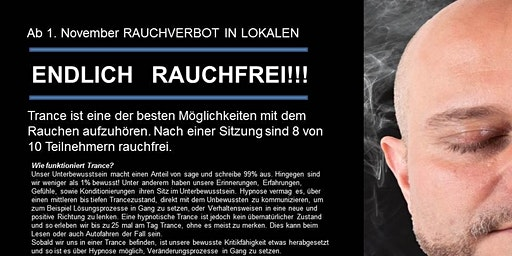 Endlich Rauchfrei am 15. Dezember 2019 im Seminarkristall Iselsberg