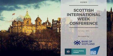 Scottish International Week Conference tickets