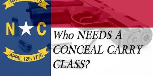 Conceal Carry Handgun Class