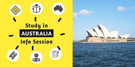 Study in Australia Education Fair in Seremban tickets