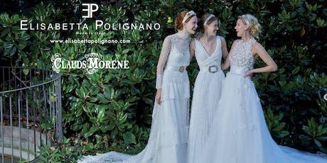 Sfilata Collezioni Sposa 2020 di Elisabetta Polignano biglietti