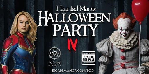 Haunted Manor Halloween Party IV