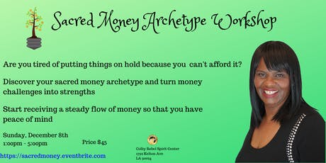 Sacred Money Archetype Workshop  tickets