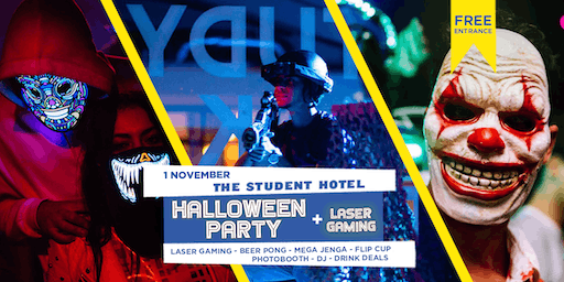 Halloween Party + Laser Gaming