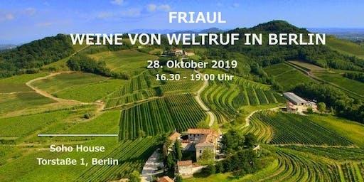 Friaul: Weine von Weltruf in Berlin