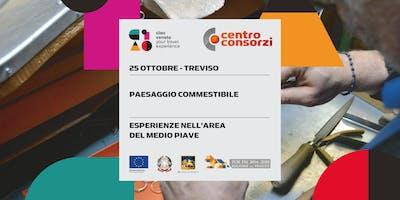 """25/10/2019 Educational """"Paesaggio commestibile"""": esperienze nell'area del medio Piave"""