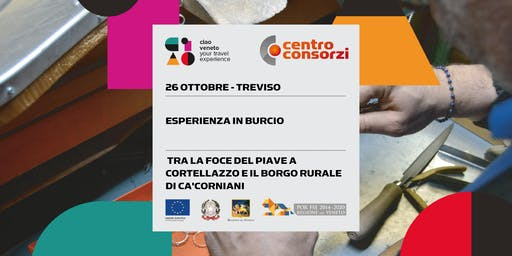 "26/10/2019 Educational ""Esperienza in Burcio tra la foce del Piave"""