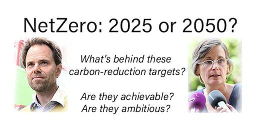 NetZero 2025 or 2050?