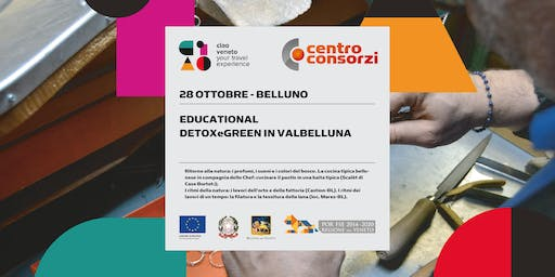 "28/10/2019 EDUCATIONAL ""Detox&Green in Valbelluna""Castion"