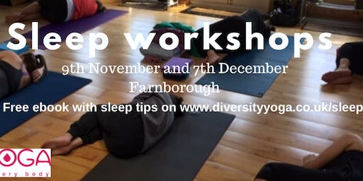 Deep relaxation and sleep workshop