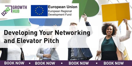 Developing Your Networking Skills and Elevator Pitch tickets