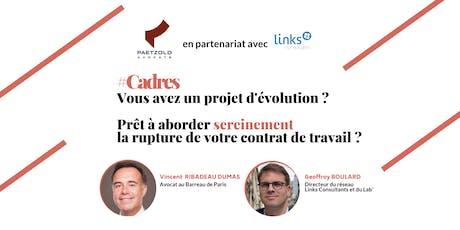 BeforeWork #Paris | Prêt à aborder sereinement la rupture de votre contrat de travail ? billets