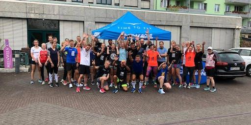 Run Club mit Hoka One Shoes
