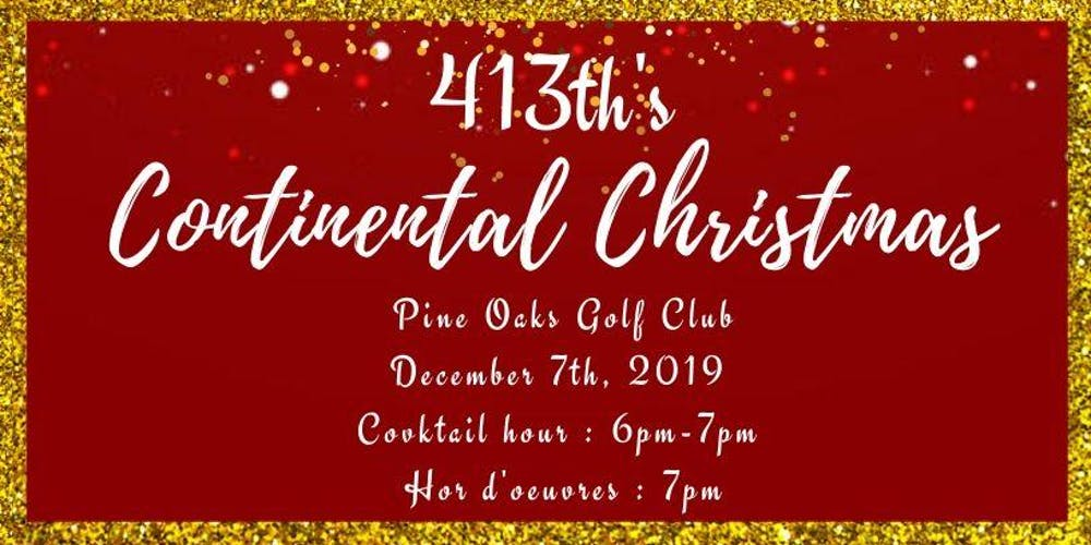Christmas In The Oaks 2019.413th S Continental Christmas Tickets Sat Dec 7 2019 At 7
