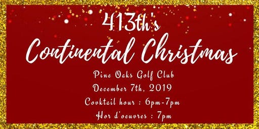 413th's Continental Christmas