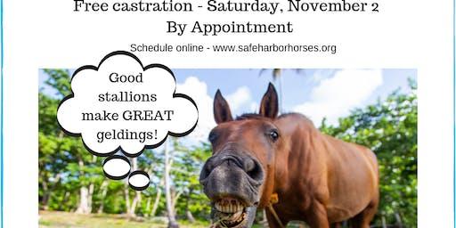Fall Castration Clinic