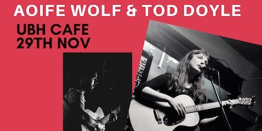 Aoife Wolf & Tod Doyle at Ubh Cafe, Newbridge