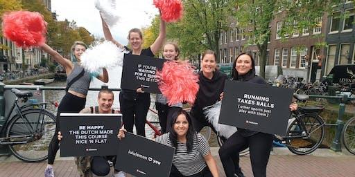 lululemon x TCS Amsterdam Marathon Cheer Station