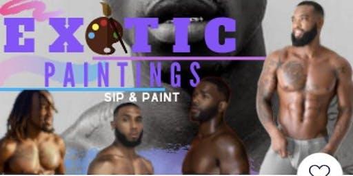 Halloween Bash BYOB Sip & Paint Male Models