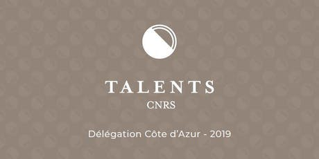 Talents CNRS 2019 tickets