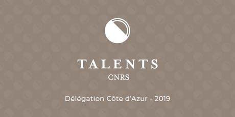 Talents CNRS 2019 billets