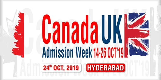 Canada UK Admission Week 2019 - Hyderabad