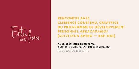 ENL • Rencontre avec Clémence Cousteau billets