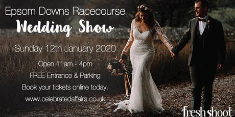 Epsom Downs Racecourse Wedding Show - January 2020 tickets