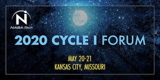 2020 NASA iTech Cycle I Forum