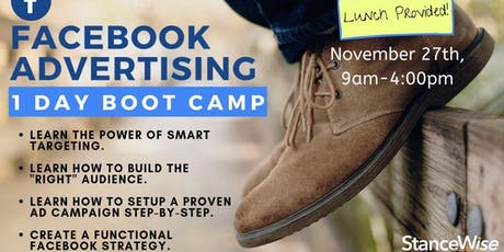 Advertising on Facebook: 1-Day Boot Camp tickets