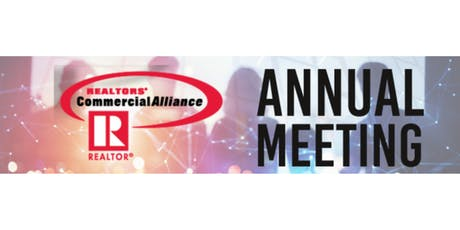 REALTORS® Commercial Alliance of Massachusetts Annual Meeting tickets