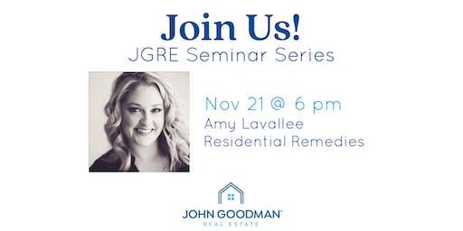 JGRE Seminar Series Part 2: Design Made Easier