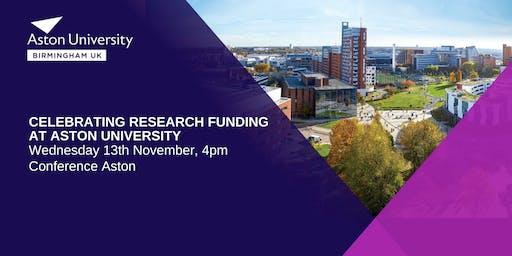 Celebrating Research Funding at Aston University