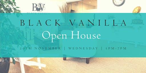 Black Vanilla Open House