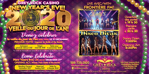 Grey Rock Casino's New Years Party
