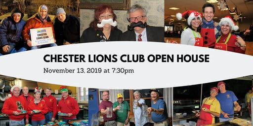 Chester Lions Club Open House