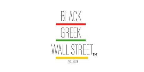 Black Greek Wall Street tickets