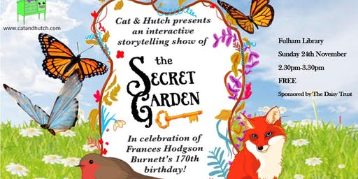 The Secret Garden celebrating Frances Hodgson Burnett's 170th Birthday