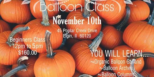 FALL BALLOON CLASS