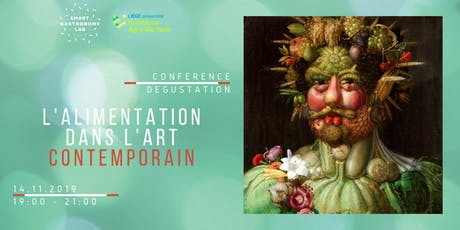 [Conférence-dégustation]L'alimentation dans l'art contemporain. biglietti