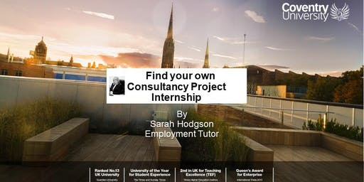 Finding Your Own Consultancy Project Internship - Workshop