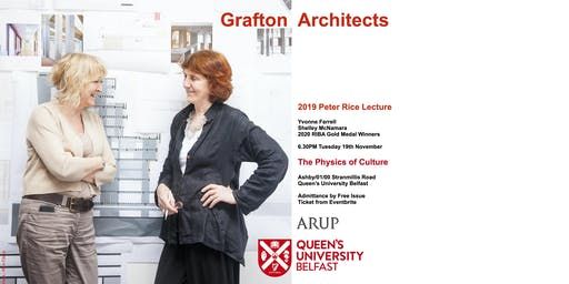 Grafton Architects - The Physics of Culture, The Peter Rice Annual Lecture