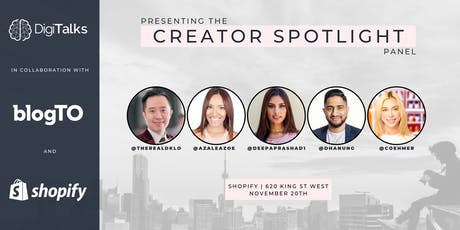 Panel Speaker Series Presented by Blog TO: Creator Spotlight tickets