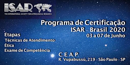 PROGRAMA DE CERTIFICAÇÃO ISAR